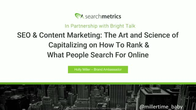 SEO & Content Marketing: The Art & Science of Capitalizing on How to Rank