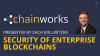 Security of Enterprise Blockchains