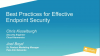 Best Practices for Effective Endpoint Security