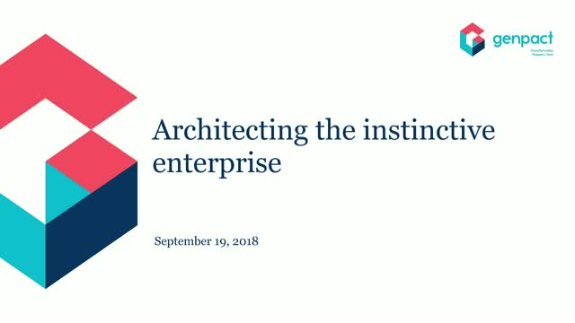 Architecting an Instinctive Enterprise