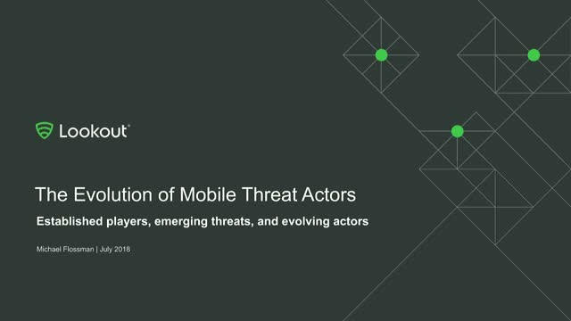 The Evolution of Mobile Threat Actors