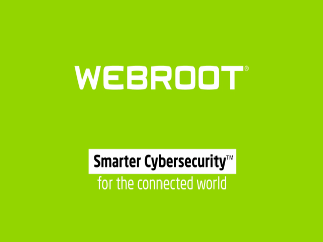 Webroot Smarter Cybersecurity | For The Connected World