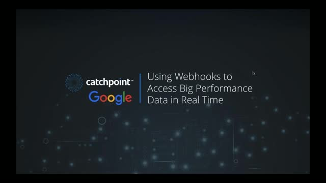 Using Webhooks to Access Big Performance Data in Real Time: OpsCast with Google
