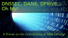 DNSSEC, DANE, DPRIVE...Oh My! A Primer on the Critical State of DNS Security