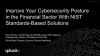Learn How to Improve Your Cybersecurity Posture in the Financial Sector