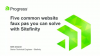 Five Common Website Faux Pas You Can Solve With Sitefinity