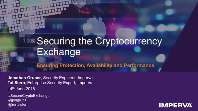 Securing the Cryptocurrency Exchange