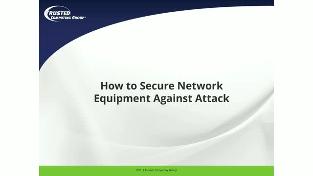 How to Secure Network Equipment Against Attacks
