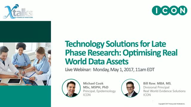 Technology Solutions for Late Phase Research
