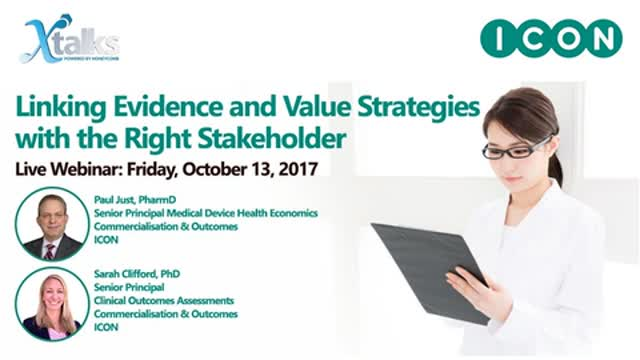 Linking Evidence and Value Strategies with the Right Stakeholder
