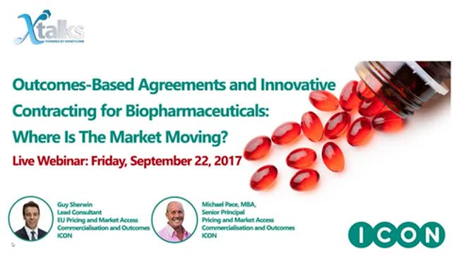 Outcomes-Based Agreements and Innovative Contracting for Biopharmaceuticals