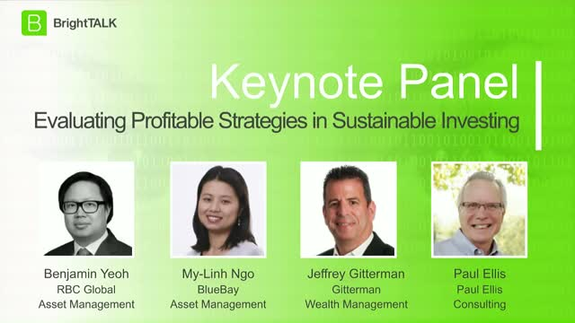 [Webinar Panel]: Evaluating Profitable Strategies in Sustainable Investing