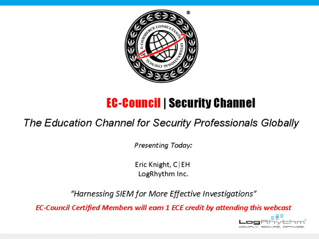 Harnessing SIEM for More Effective Investigations