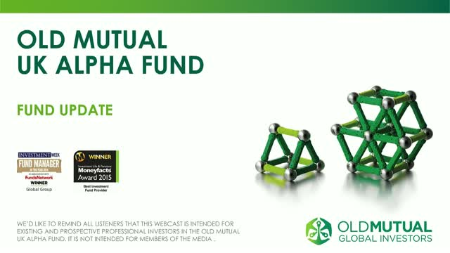 Old Mutual UK Alpha update with Richard Buxton - April 2018