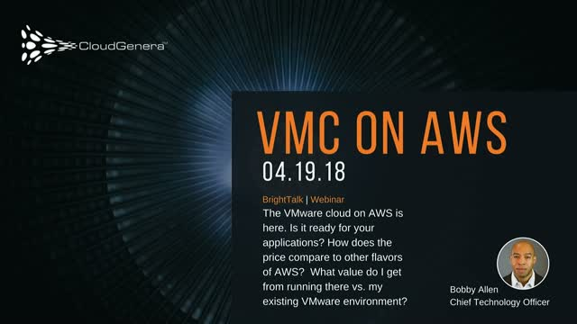 Understanding how VMC on AWS complements your cloud strategy