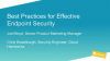 [Breach Prevention Week] Best Practices for Effective Endpoint Security
