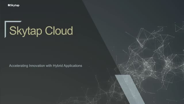 Introduction to Skytap