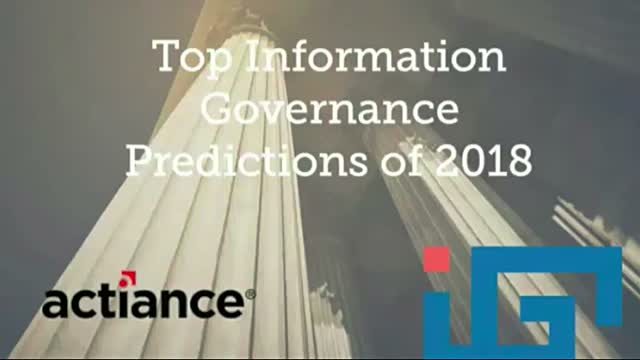 Top 5 Information Governance Predictions for 2018