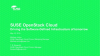 SUSE OpenStack Cloud 8 – driving the software-defined infrastructure of tomorrow