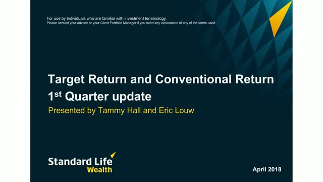 Standard Life Wealth Q1 2018 update