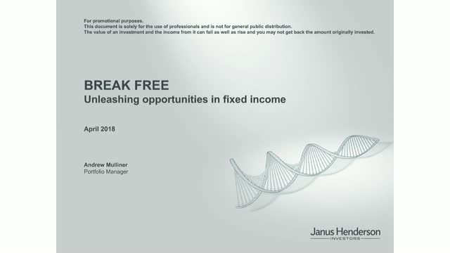 BREAK FREE: How to unleash opportunities in fixed income from ditching the index