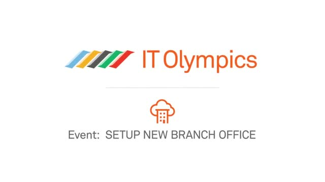 Setup New Branch Office: SD-WAN vs. Legacy WAN - IT Olympics