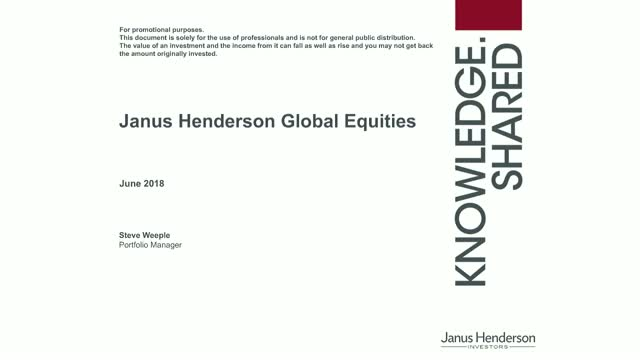 Global Equities: Focus on the predictable