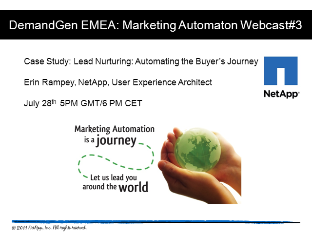 Lead Nurturing: Automating the Buyer's Journey