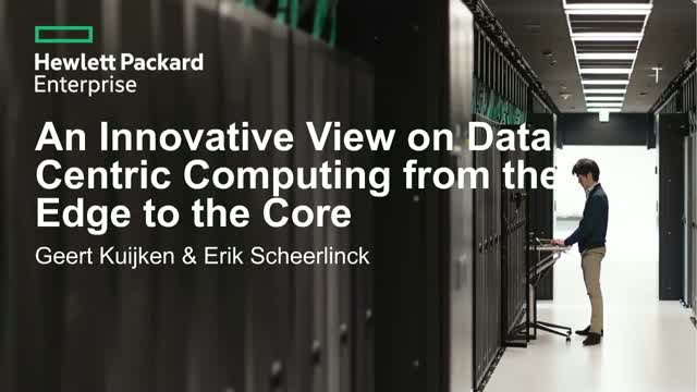 From the Edge to the Core: An Innovative View on Data Centric Computing