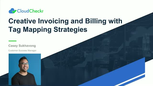 Creative Invoicing and Billing with Tag Mapping Strategies