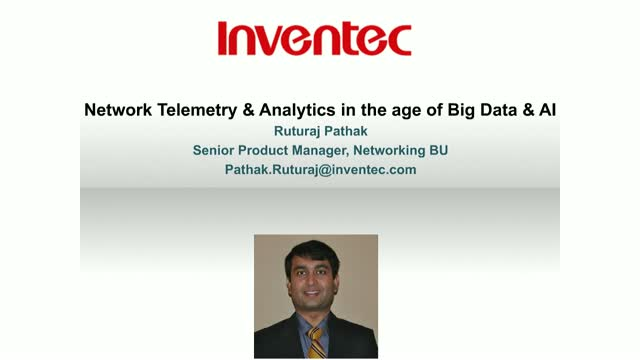 Network Telemetry & Analytics in the Age of Big Data & AI