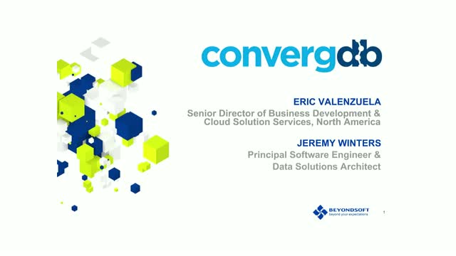 ConvergDB DevOps for Data - Deploy and manage serverless data lakes