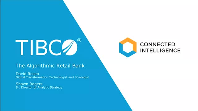 The Algorithmic Retail Bank: How to Be a Leader