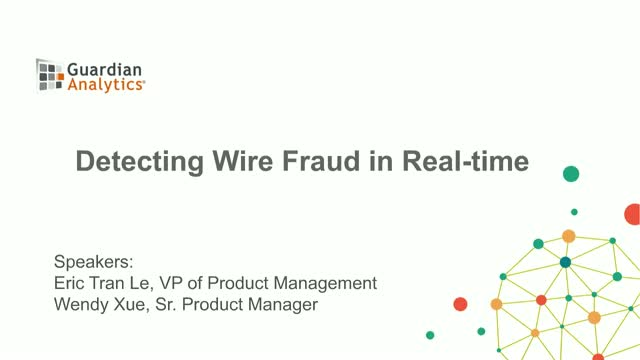 How to Detect Wire Fraud with Machine Learning and Behavioral Analytics