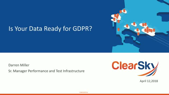 Is your data ready for GDPR?