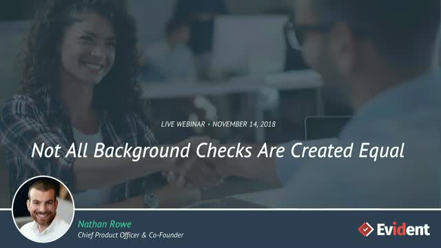 Not All Background Checks Are Created Equal