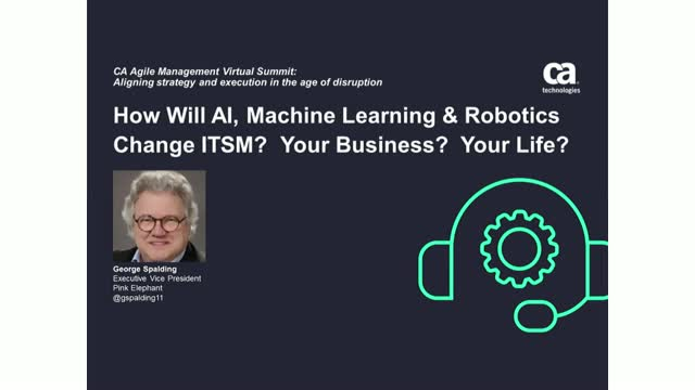 How Will AI, Machine Learning and Robotics Change ITSM?