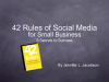 42 Rules of Social Media for Small Business