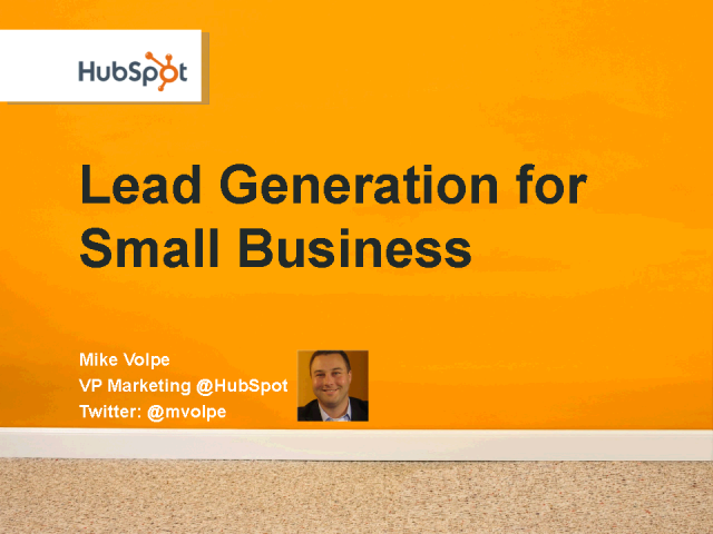 How to Generate Leads for Small Business