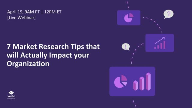 7 Market Research Tips That Will Actually Impact Your Organization
