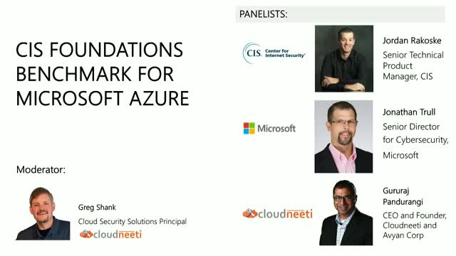 CIS Foundations Benchmark for Microsoft Azure