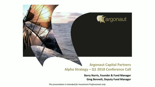 FP Argonaut European Alpha and Argonaut Pan European Alpha Fund Q1 2018 Update