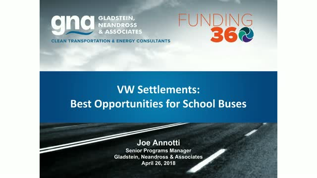 VW Settlements: Best Opportunities for School Buses