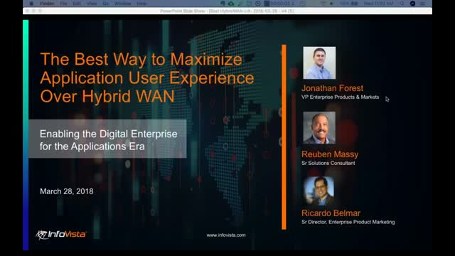 The Best Way to Maximize Application User Experience over Hybrid WAN
