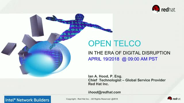 The Modern Telco is Open in the Era of Digital Disruption