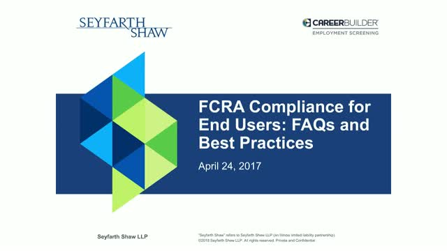 Clearing Up Confusion Around FCRA Compliance