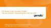 "451 Research and Gemalto present ""MSPs - Maximizing ROI with Security"""