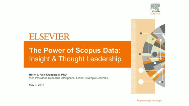 The Power of Scopus Data