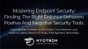 Endpoint Security: The Right Balance Between Positive and Negative Approaches