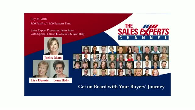 Get on Board with Your Buyers' Journey